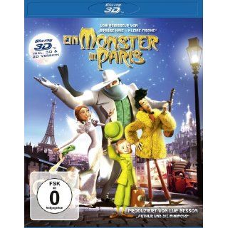 Ein Monster in Paris (inkl. 2D Version) [Blu ray 3D] (2012)