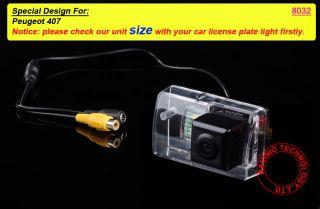 Sony CCD Peugeot 407 Rückfahrkamera Car rear view Camera reverse für
