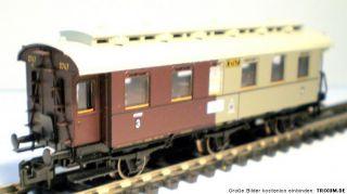 FLM N 8896 K Personenwagen 3./4. Kl. der K.P.E.V. TOP