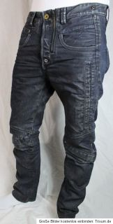 STAR RAW COSMO PANT BREEZE DENIM JEANS BLAU SCHWARZ HOSE 33/32 TOP