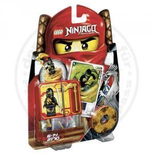 Lego Ninjago 2170 Cole DX Figur + Spinner Karte OVP