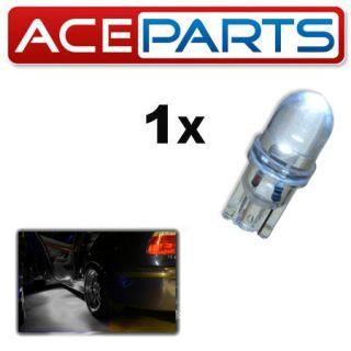 1x White Interior Door Light LED 501 W5W T10 Trade Price Upgrade Car