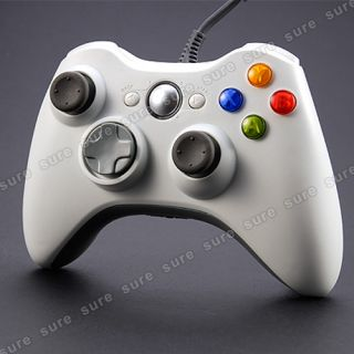 für MICROSOFT Xbox 360 Wired Controller Gamepad Joypad Dual Schock
