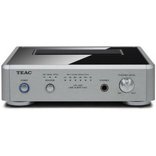 Teac UD H01 S Digital/Analog Wandler mit USB Audio Interface silber