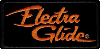 HD Harley Davidson ELECTRA GLIDE Aufnäher Patch