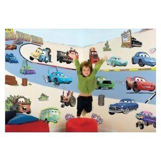 FunToSee Wandbild Aufkleber Disney Pixar Cars Küche
