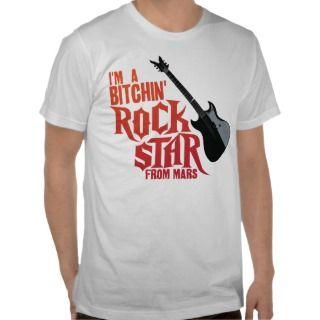 Rock Star Mars Shirts