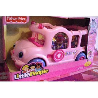 Mattel V0925 Fisher Price Little People Schulbus pink