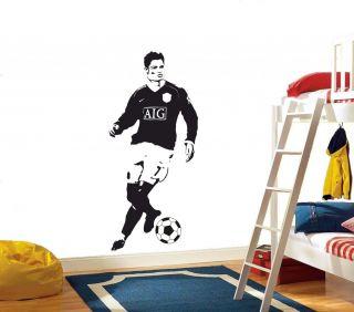Real Madrid, Fußball,Wandbild,Sticker,Dekor,Wandtattoos,DC 410