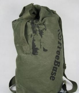 Hot New BACKPACK TRAVEL ARMY BAG CAMPING HIKING CAMO ARMY GREEN