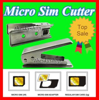 Micro Sim Card Karten Cutter Stanze Schneider fur iPad