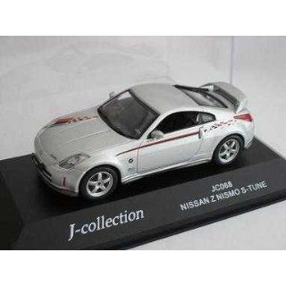 NISSAN 350Z 350 Z NISMO S TUNE SILBER 1/43 J COLLECTION MODELLAUTO
