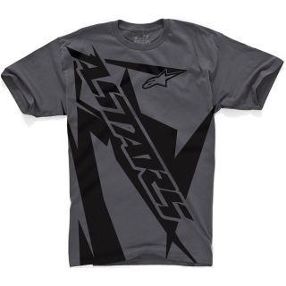 ALPINESTARS 2012 GENUINE BIOHAZARD CREW NECK TEE COTTON CLOTHING TOP T
