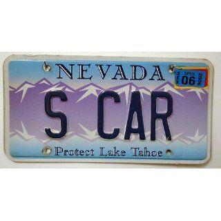 US Nummernschild NEVADA Kennzeichen # USA License Plate # Auto