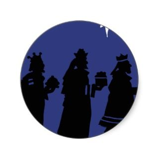Christmas Icons Sticker   Three Wise Men