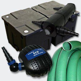 Filter Set Bio Teichfilter 60000l+SuperEco Pumpe+36W UVC Wasserklärer