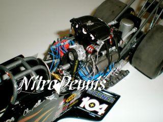 NHRA CLAY MILLICAN 1:16 ELVIS Milestone TOP FUEL Dragster Nitro 3x