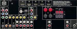 Yamaha RX V 465 5.1 AV Receiver schwarz Elektronik