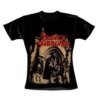 Black Sabbath   Girl Shirt Church (in S) Sport & Freizeit
