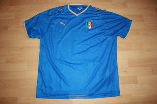Puma Italien Italy Trikot Jersey Shirt maglia vintage XL #432