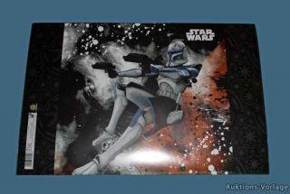NEU STAR WARS   Clone Wars   hochwertige Schreibtischunterlage 60 cm