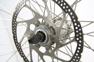 Satz Alexrims Laufräder / Shimano Disc Brake / Alfine 8 Gang