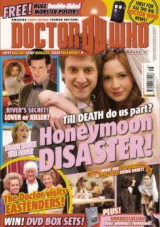Doctor Who Magazin (Nr.428) 12/2010 Honeymoon Disaster