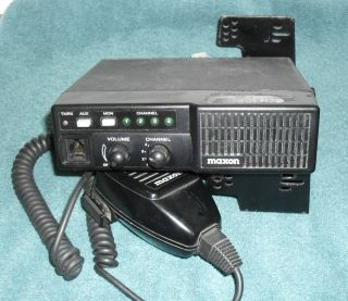 SM2450 NARROW BAND UHF Radio w Mic Bracket 440 470 Mhz 25W 4 Ch NICE