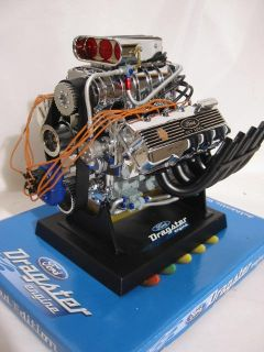 Dragster Motorblock Ford 427 Top Fuel engine Motorblock V8 Modell 1 6