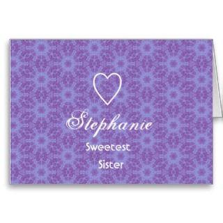 Sisters Birthday Card   Customizable
