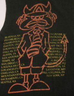 Vintage 90s ACDC The Razors Edge Tour CUT OFF Hard Rock MUSIC Tank Top