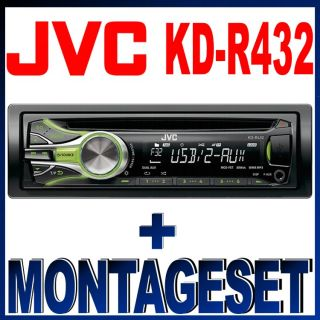 JVC KD R432 USB/CD/AUX IN + Adapter Ford Mondeo 09/1996 10/2003 SET 12