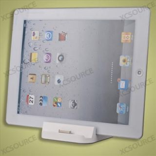 USB Dock Station Chargeur Acceuil Adaptateur Support pour iPad 2 2G