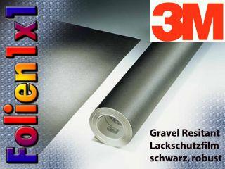 3M Gravel Resistant Lackschutz Folie 440 µm schwarz matt strukturiert