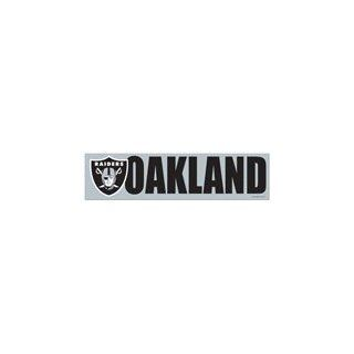 NFL Bumper Sticker / Aufkleber Oakland Raiders Sport
