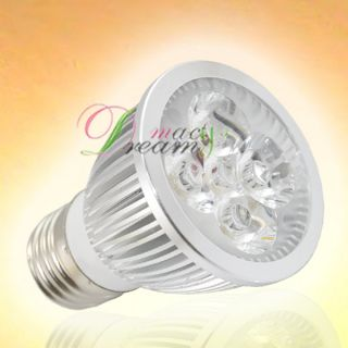 5W E27 Warm White High Power LED Spot Light Bulb Lamp,C