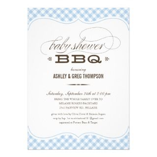 Victorian Vintage Boy Baby Shower Invitations