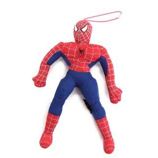 SPIDERMAN FIGUR STOFF SPIDERMANN SPIDER MAN 20cm mit SAUGER
