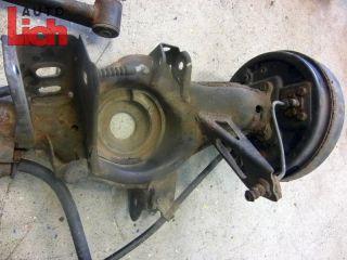 Nissan Micra K11 BJ96 3Türer Hinterachse Achse m Bremstrommel
