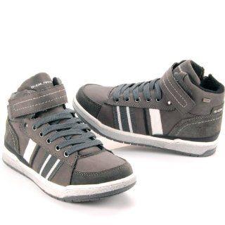 OLIVER KIDS Kinder Winter Sneaker, TEX Membrane, Retrolook, graphite