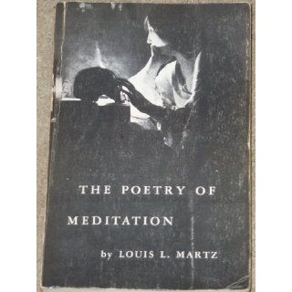 Poetry of Meditation: Study in English Religious Literature of the