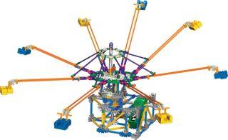 Knex Knex Octopus Whirl 454 Teile + Motor Neu & OVP