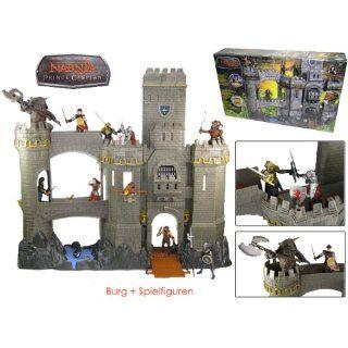 Narnia Burg Prince Caspian Spielset + 12 FIGUREN NEU