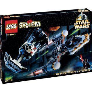LEGO 7150 Star Wars Y Wing & Tie Fighter Cla. Spielzeug