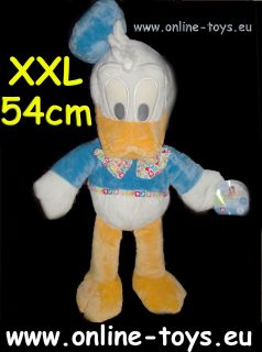 Walt Disneys Donald Duck Neu Clubhouse Pluesch Plush Stofftier XXL 54