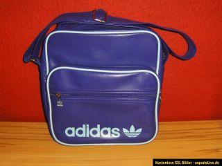 NEU Adidas Sir Bag Airline Messenger Tasche Umhängetasche lila