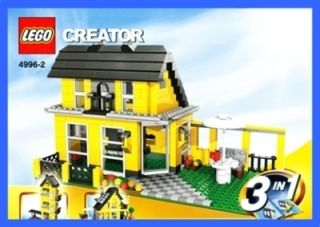 LEGO BAUANLEITUNG 4996 * Beach House / Ferienhaus * 531
