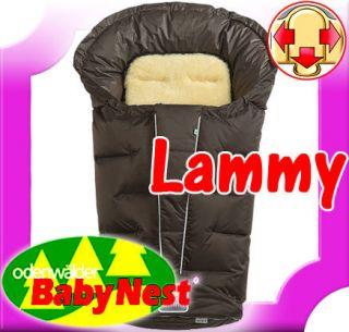 ODENWÄLDER Winter Fußsack m. Lammfelleinsatz LAMMY