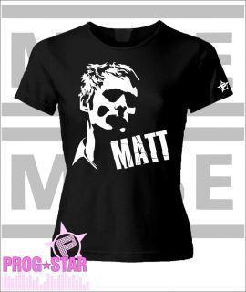 Muse T Shirt Matthew Bellamy Rock Resistance Fan Girlie