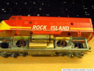 Athearn Diesellok F 3 Rock Island, US/USA mit Faulhaber Motor,Umbau